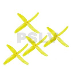 Dal 5040 5 inch 4 blade multirotor prop Q5040 MR1223-Yellow